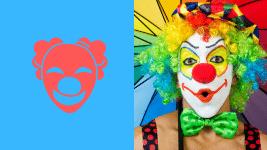 Comment apprendre à faire le clown : un clown fardé
